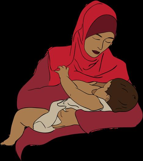 ...posições para amamentar bem o seu bebê